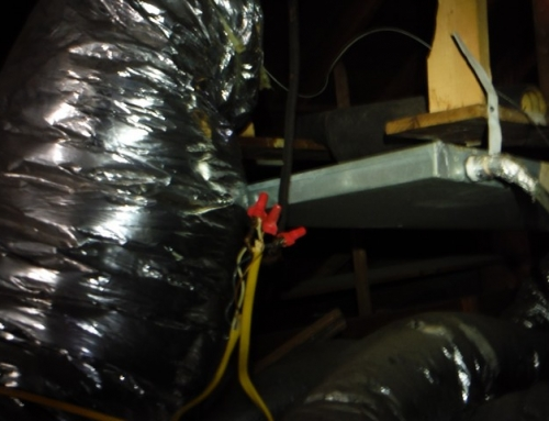 Electrical splices like this can cause your house to catch on fire